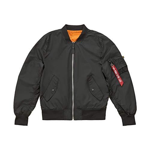 Alpha Industries Men's L-2B Scout Flight Jacket (M, Black)
