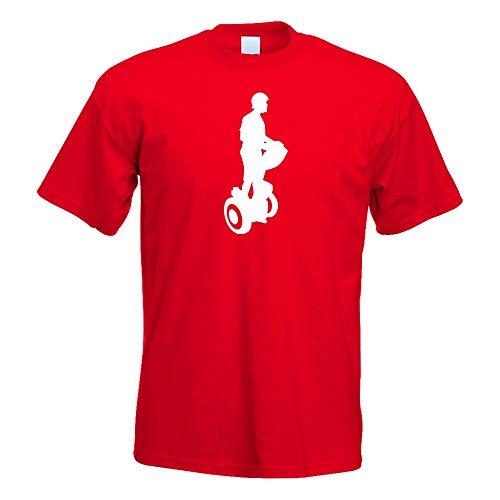 Segway Fahren Figur T-Shirt Motiv Bedruckt Funshirt Design Print