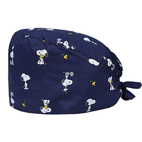 BUTITNOW Working Cap with Sweatband Adjustable Tie Back Hats Unisex Landscape Animal Print Cute Pattern
