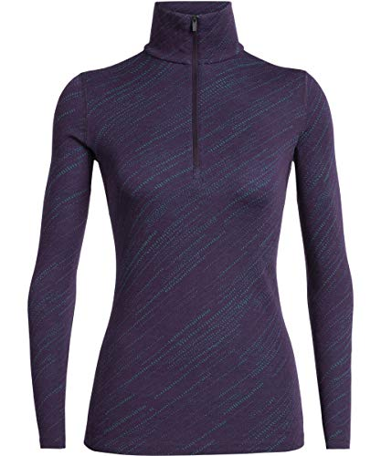 Icebreaker Dames shirt onderhemd lange mouwen rolkraag Vertex Longsleeve Half Zip