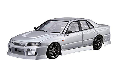 青島文化教材社 1/24 ザ・チューンドカーシリーズ No.20 ニッサン URAS ER34 スカイライン25GT-t 2001 プラモデル
