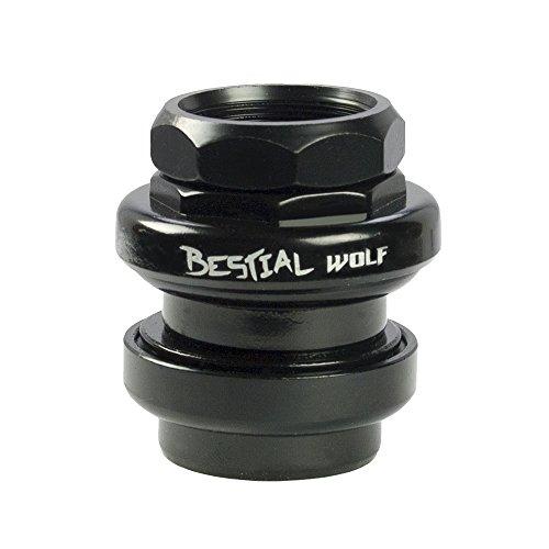 HEAD531, Dirección de acero de rosca Bestial Wolf, negro