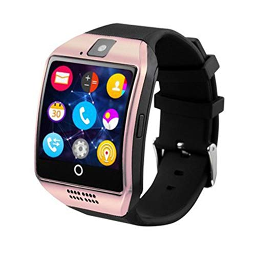 Bluetooth Smart Watch Cámara Soporte Tarjeta SIM Tarjeta SD Radio FM Health Fitness Tracker Smart Band contador de pasos, podómetro caminar para hombres y mujeres