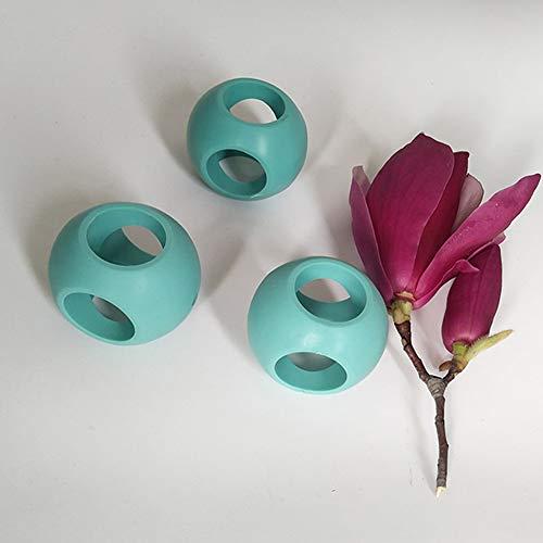 Ghair2 Lot de 4 boules de lavage magnétiques anti-calcaire pour machine à laver
