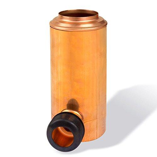 STABILO Sanitaer RETOMAT Regenwassersammler DN 100 Kupfer Fallrohr Füllautomat Regensammler Fallrohrsammler Filtersammler