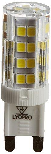 LYO Lampe LED G9, 4 W, Blanc, 16,5 x 5 cm