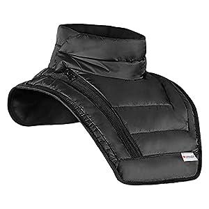 ZNWEATCZ Collo Motocross, Protezione Freddo Supporto Cervicale, Facile da Pulire Protezione Anticaduta, Antispruzzo Protezione Collo per Mountain Bike Motociclo