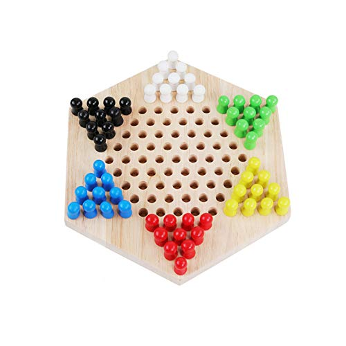 Chinese Checkers Board Game $6.30 (65% OFF Coupon)