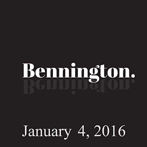 Bennington, January 4, 2016 cover art