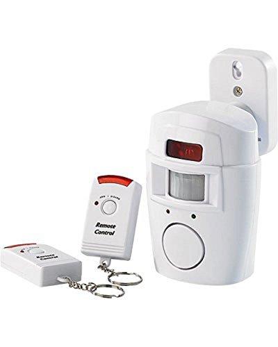 Vetrineinrete Allarme con due telecomandi infrarossi antifurto con sensore rilevatore di movimento di 110° sirena 120 db B3