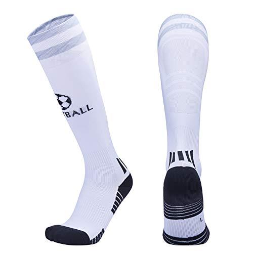 ZXCVB Mann Fußball Socken Atmungsaktive Sport Fußball Socken Anti Slip Lange Strümpfe Outdoor Frauen Elastische Nylonsocken