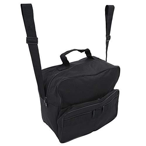 Accesorio portátil para silla de ruedas, organizador de bolsa de almacenamiento para silla de ruedas, bolsa para silla de ruedas, bolsa de almacenamiento de gran capacidad con dos correas
