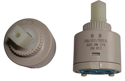 Cartouche de rechange pour mitigeur de lavabo/évier 40 mm