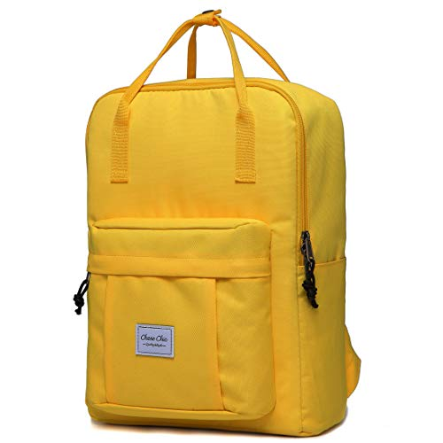 Backpack for Girls, Chasechic Fashion Lightweight Convertible Casual Travel Daypack Yellow