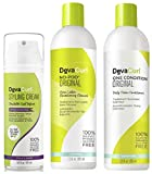 Devacurl No-poo Shampoo & Devacurl One Condition 12oz + Styl