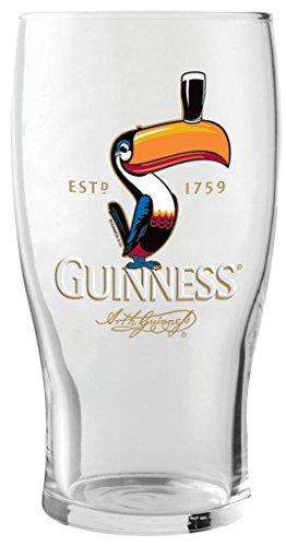 GuinnessÃ'® Toucan Pint Glass by Guinness Official Merchandise