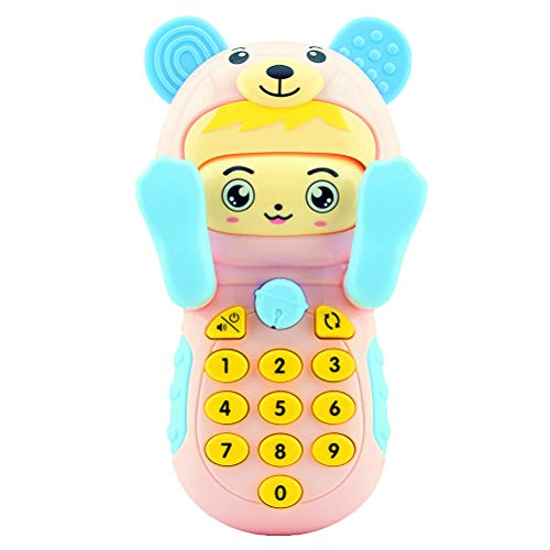 Best Price 1pc Music Mobile Cell Phone Cartoon Music Phone Learning Educational Toy for Baby Toddler...