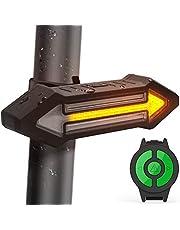 HAHAKEE Fiets Achterlicht, Waterdicht fietslicht USB Oplaadbaar,5 Lichtmodus Fiets achterlicht voor fietsers, Bicyclette, Bike Light