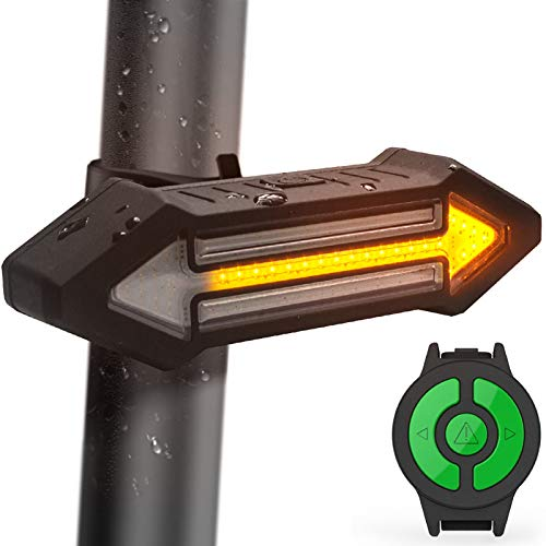 Luz Trasera para Bicicletas HAHAKEE Control Remoto...