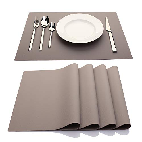 ME.FAN Silicone Placemats [17.7''x12.6''] Heat-Resistant...