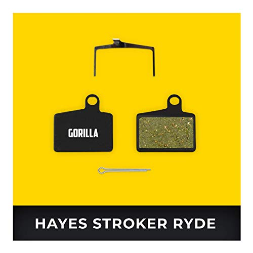 Hayes Remblokken Stroker Ryde Ryde Comp & Radar voor Fiets Schijfrem I Organisch & Gesinterd I Hoge Remprestaties I Duurzaam & Perfecte Pasvorm Remblok
