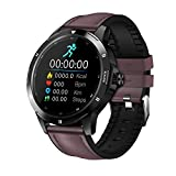 Nuovo Quadrante Multifunzione Intelligente Orologio Intelligente K15 Bluetooth Fitness Tracker Cardiofrequenzimetro Cardiaco Smart Clock Donne Da Uomo Sport Smart Watch Telefono Per Android IOS,A