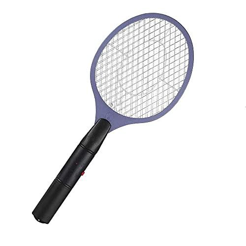 Gsdxz Raqueta eléctrica de Mano para Matar Moscas, atrapa Insectos, Rejilla de...