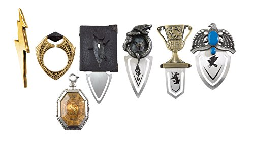 The Noble Collection Die Horcrux-Lesezeichensammlung.