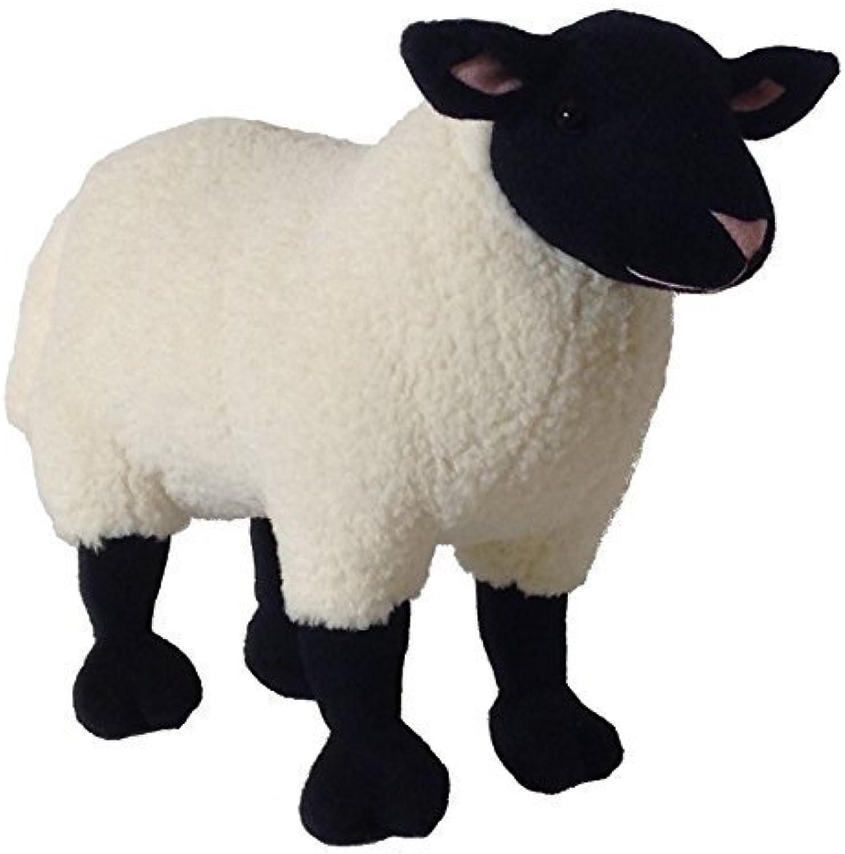 echa un vistazo a los más baratos ADORE 14 Standing Marshmallow the Suffolk Sheep Plush Stuffed Stuffed Stuffed Animal Juguete by Adore Plush Company  venderse como panqueques