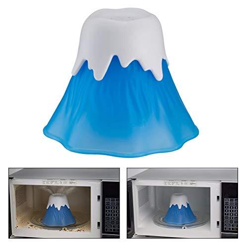 Macabolo Mikrowelle Nsteam Cleaner, Erupting Vulkan Hochtemperatur Mikroweller küchenGadget Werkzeuge für Home Office