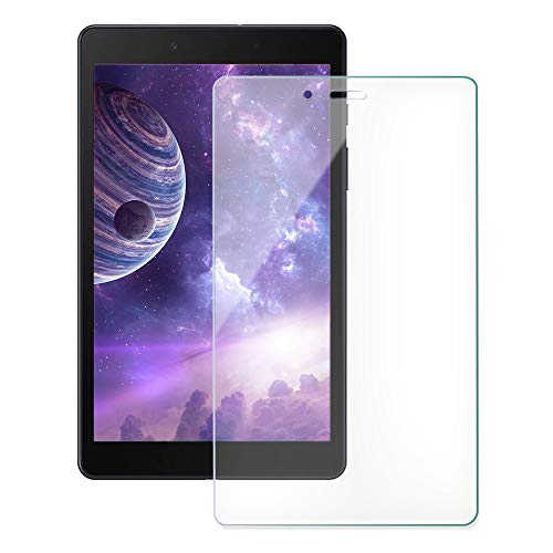 [2 Pack]ZoneFoker Galaxy Tab A 8.0 inch 2019 (SM-T290/SM-T295) Tablet Screen Protector, [Anti-Scratch][Easy Installation][Bubble Free] Tempered Glass for Samsung SM-T290/T295 Tablet (Clear)