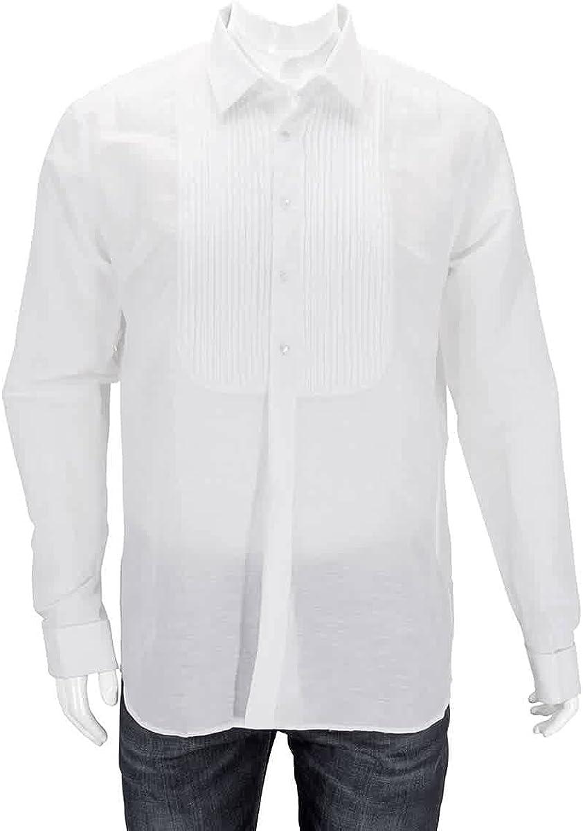 Burberry Men's Matthais Bib Front Shirt, Brand Size 16.5