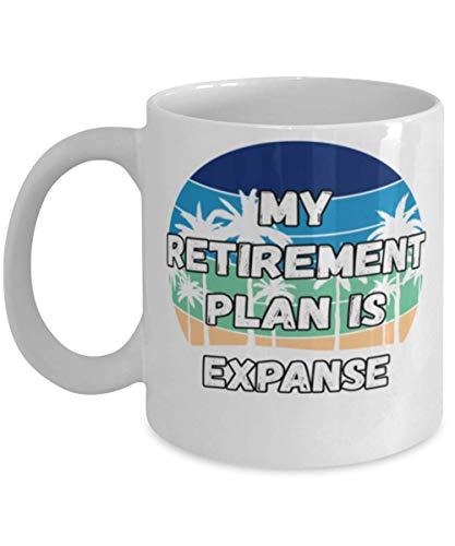 My Retireman Plan is Expanse Coffee Mug 11oz, white