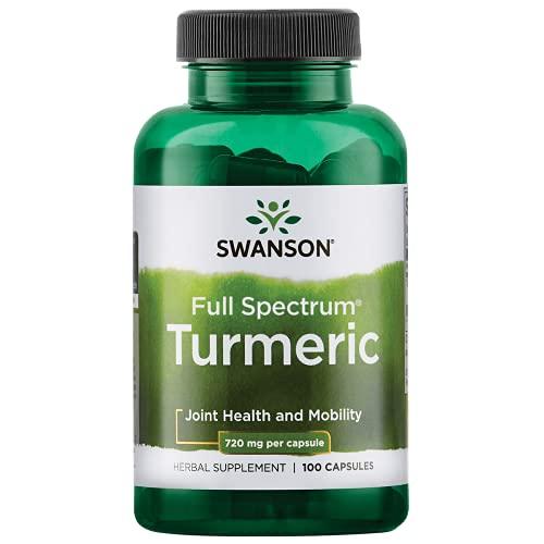 swanson premium bone supplements Swanson Premium Brand Turmeric Whole Root Powder, 720 mg, 100 Gelatin Caps