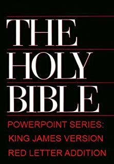 Holy Bible: Powerpoint Series