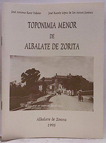 La toponimia menor de Albalate de Zorita
