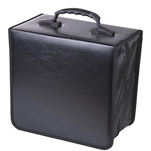 Oriolus PU Leather CD/DVD Binder Case Storage Holder (520 Disc Capacity)