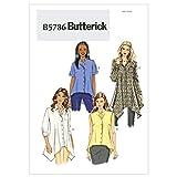 BUTTERICK B5786 - Patrón de Costura para Confeccionar Blusa