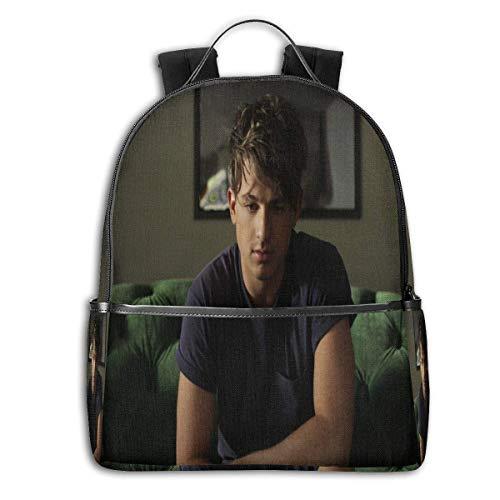 Shichangwei Charlie Puth Backpack 3D Full-Print Backpack Campus School Bag Casual Backpack Gym Travel Hiking Backpack