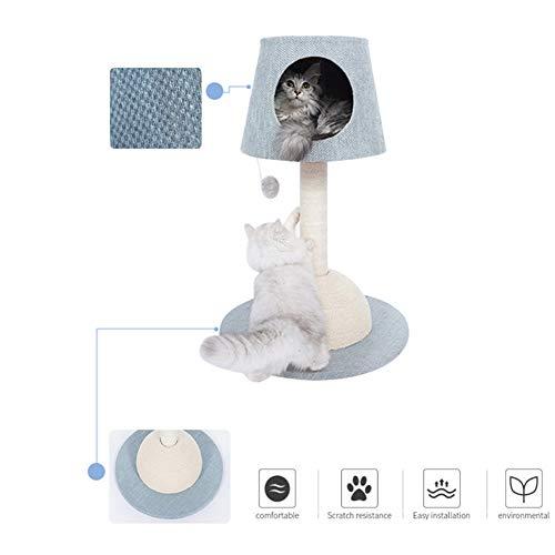 LXHONG-Árbol gato Madera Maciza Estructura De La