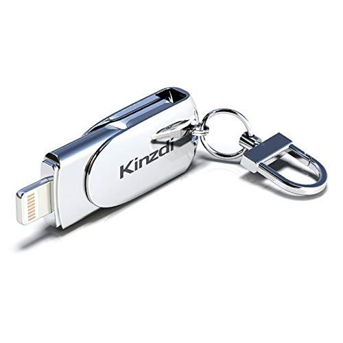 32GB USB + 8 Pin Interface Metal Twister Flash U Disk USB (Color : Silver)
