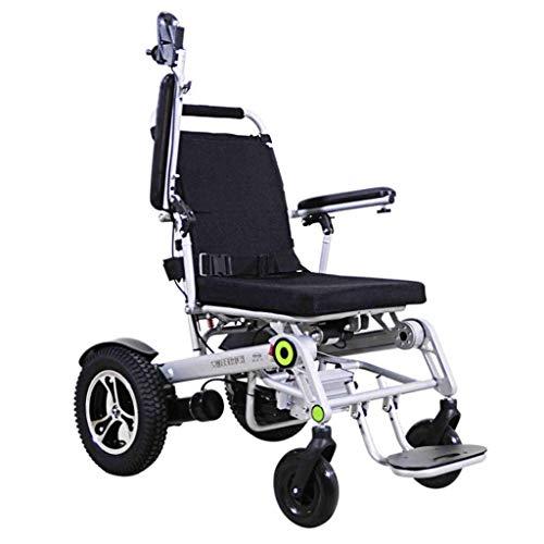GFF Elektrischer Rollstuhl, Senioren, Jugendliche, Rollstuhl, elektrisch, intelligent, automatisch, klappbar