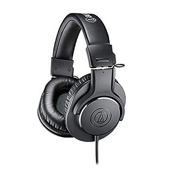 Audio-Technica ATH-M20X Professional Studio Monitor Headphones Black