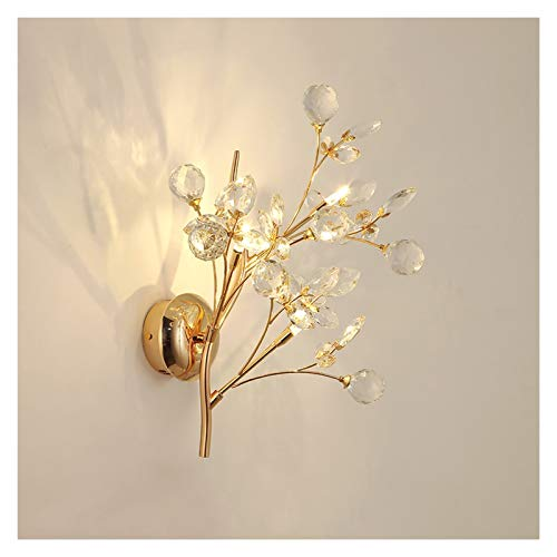 Lámpara de pared Contemporánea CRISTAL CRISTAL LIGHT LIGHT MODERNA ÁRBOL RAMIENTA DE LA PARED LIGHT FONDO DE LUJO DE LUJO FONDO DE LA PARED APONTES, 2 LUCES 3 LUCES LED LED CALIENTE LUZ Bañadores de P