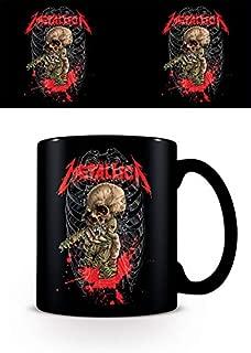 Metallica - Ceramic Coffee Mug/Cup (Ribcage Skull)