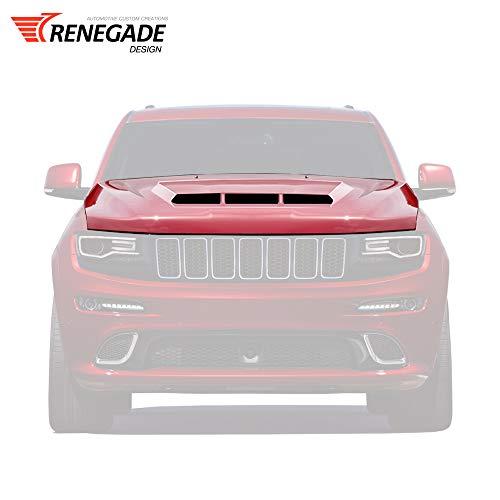 Custom hood Tyrannos V3 for Jeep Grand Cherokee WK2 2011-2020 Demon hood scoop for car tuning'Renegade Design'