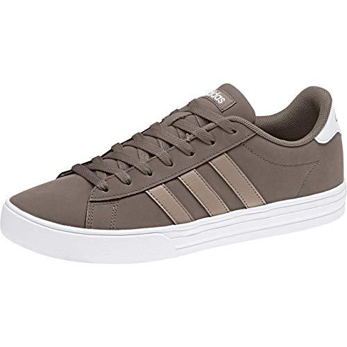 adidas Daily 2.0, Zapatos de Baloncesto Hombre, Marrón (Sbrown/Lbrown/Ftwwht Sbrown/Lbrown/Ftwwht), 41 1/3 EU