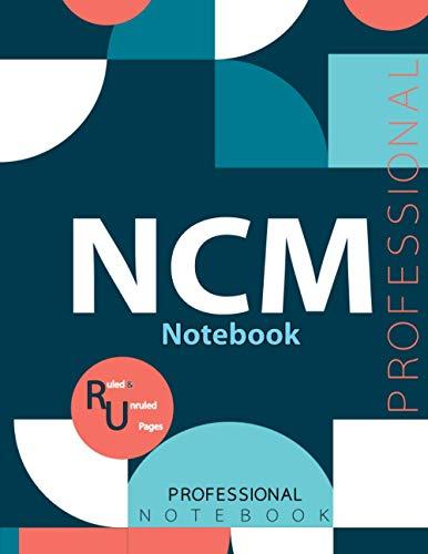 "NCM Notebook, Examination Preparation Notebook, Study writing notebook, Office writing notebook, 140 pages, 8.5"" x 11"", Glossy cover"