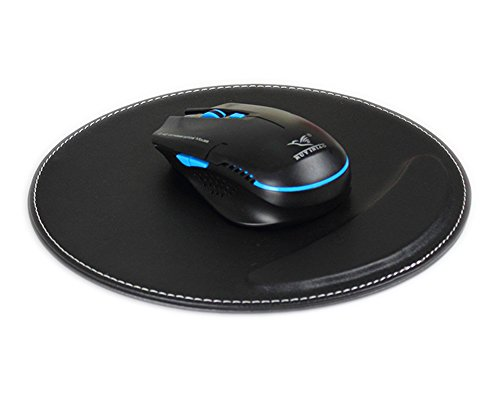 BXT Generous Office Recycled Leather Mousepad Gaming Mouse Pad With Wrist...