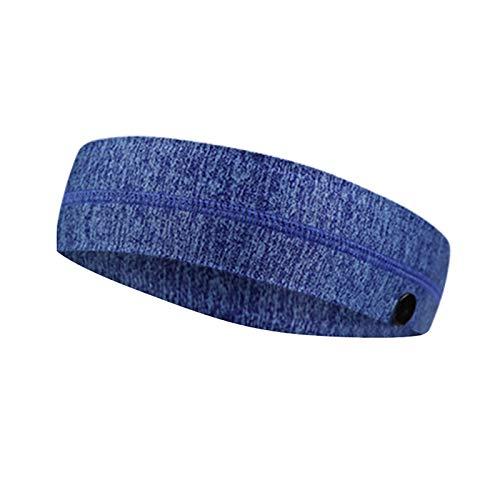 Sport Hoofdbanden voor Mannen en Vrouwen, Unisex Haarband met Knopen, Sport Tulband, voor Fitness, Lichaamsbeweging, Hardlopen, Yoga